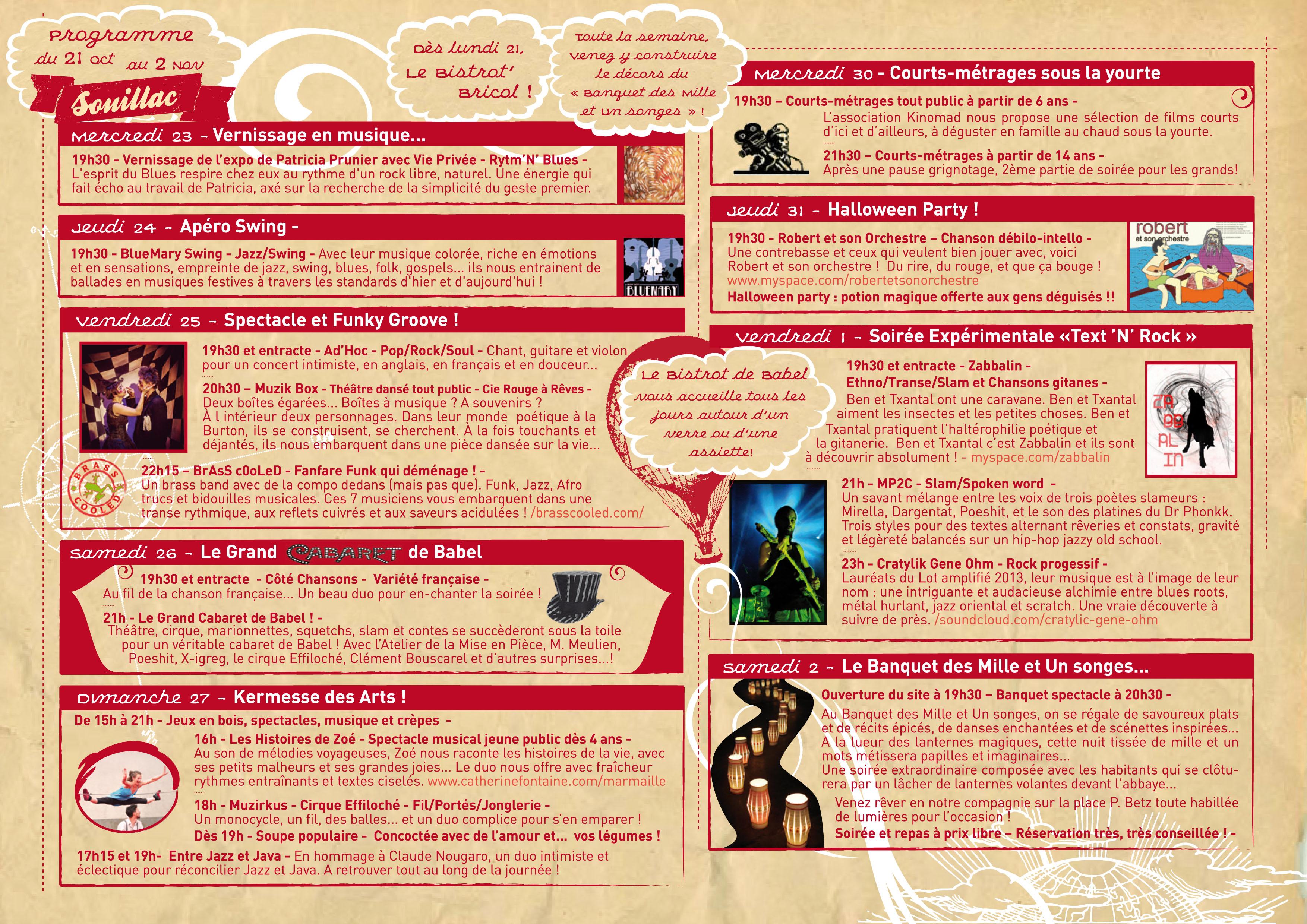 programme Ext 2 festival Babel-Gum